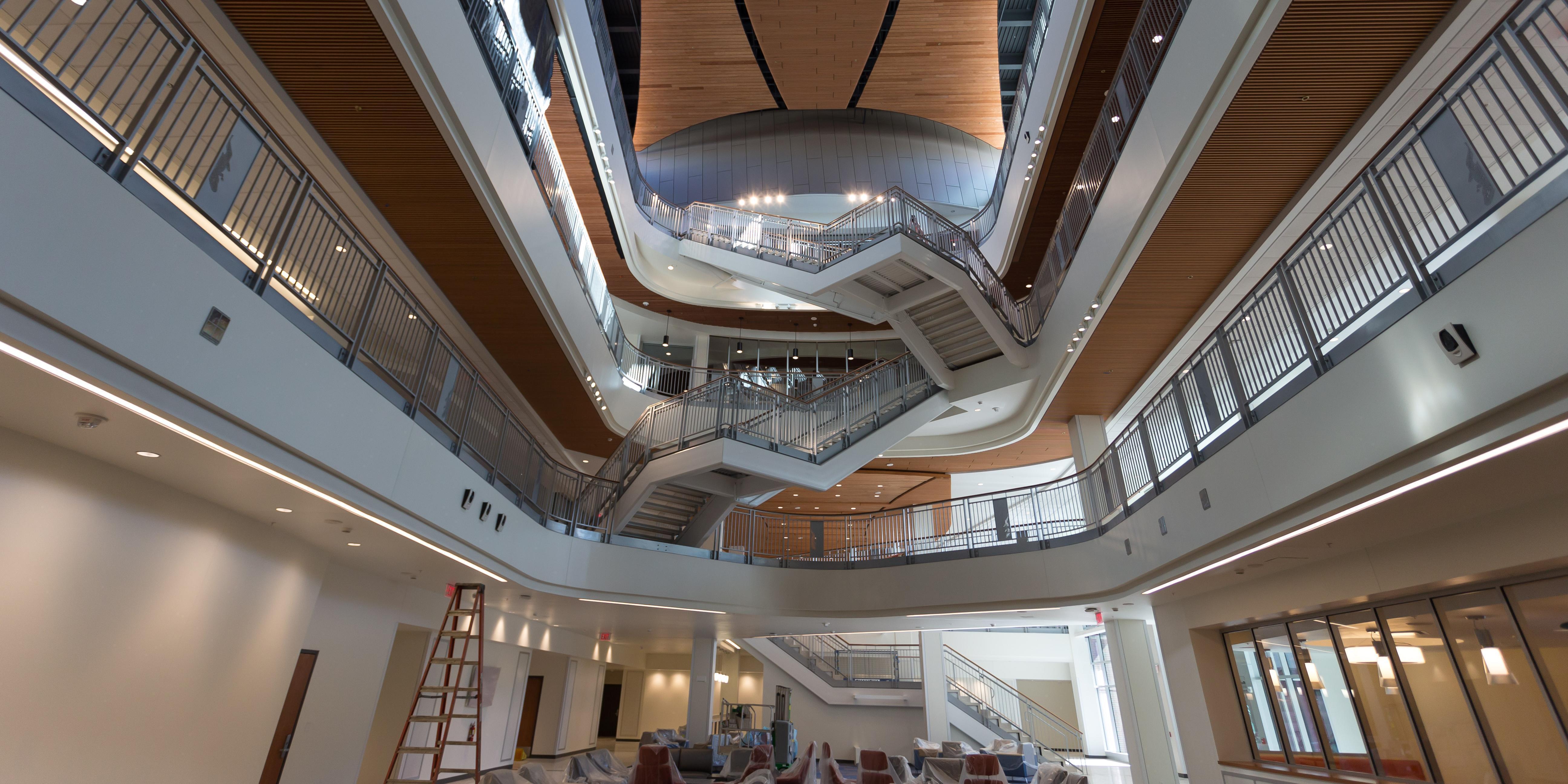 Reitz Union inside Stairs