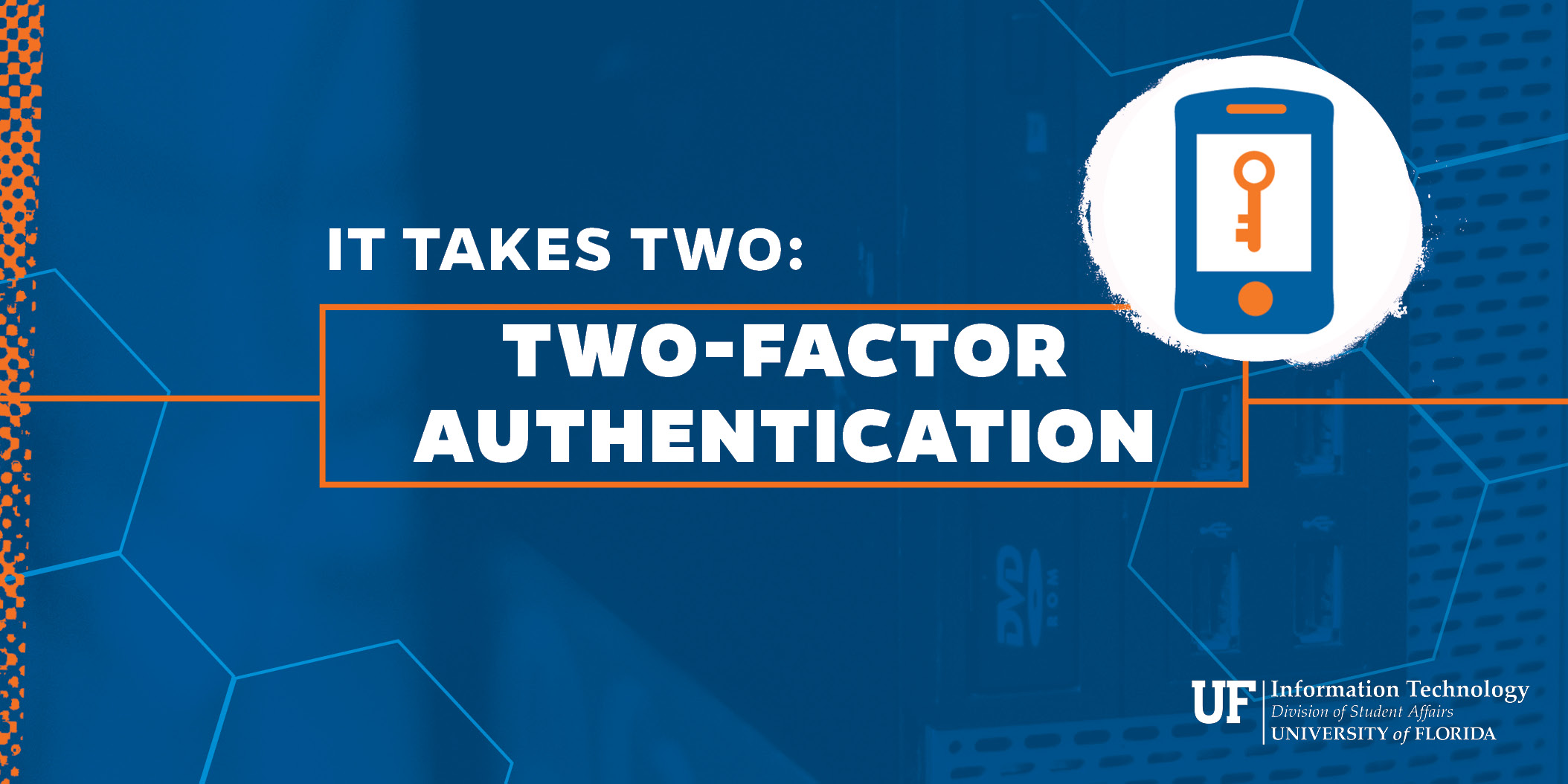 Main graphic for Two-Factor Authentication project