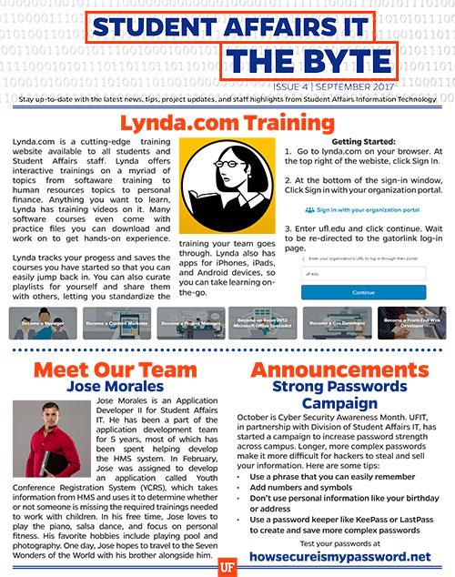 The Byte September 2017 Issue